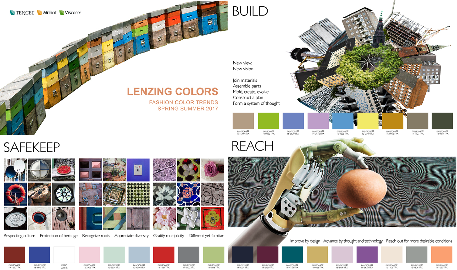 Fashion Spring/Summer 2017 Colour Forecast for Lenzing