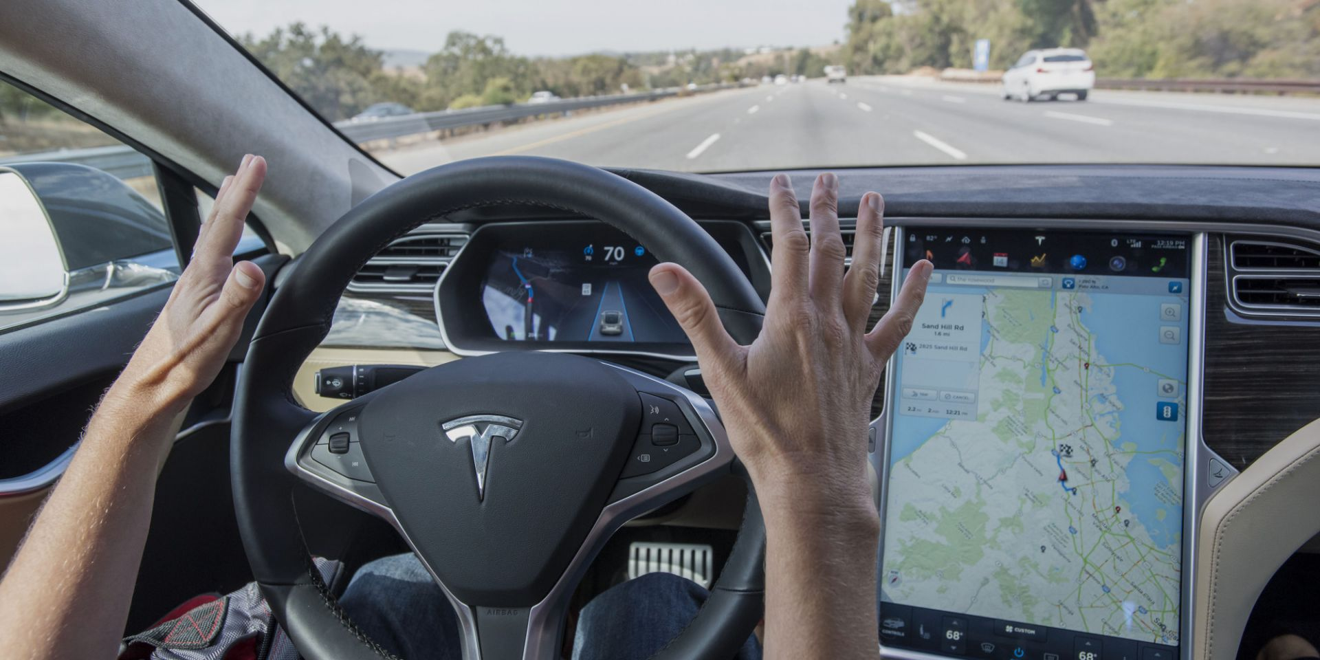 Tesla Utopilot. Photographer: David Paul Morris/Bloomberg via Getty Images Image Source: electrek.co